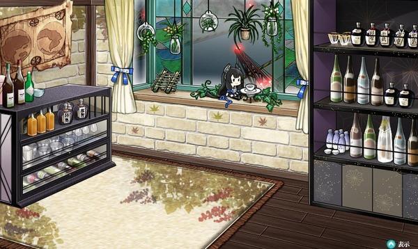 【艦これ】新家具の「筏と伊号潜水艦の窓」に新艦娘!?この娘誰だろう?