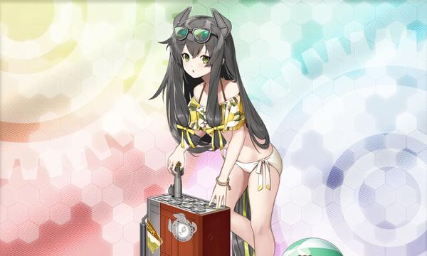 【艦これ】ヨナちゃんは今の限定グラもいいけど、通常グラも中々味わい深いよね