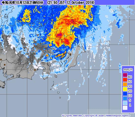 【艦これ】関東に来ている台風は平野部は抜けつつあるっぽい? 提督たちの台風雑談
