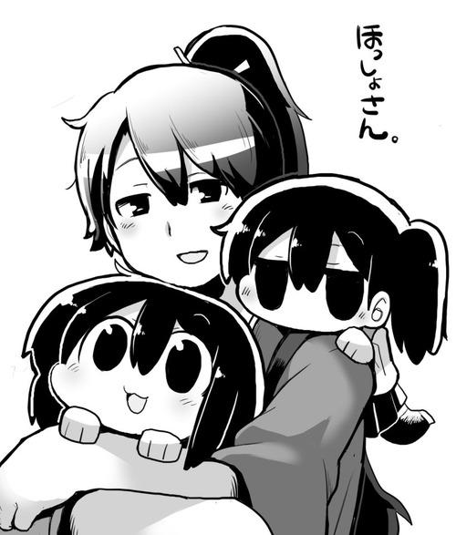 【艦これ】赤城と加賀とほっしょさん なごみネタ