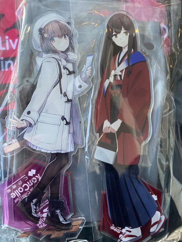【艦これ】赤城さんと雪風・・・二人とも美人過ぎない? 他物販雑談