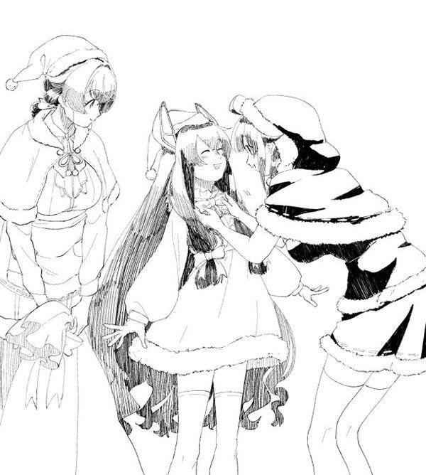 【艦これ】クリスマスmodeの準備をしてもらう伊47ちゃん 他なごみネタ