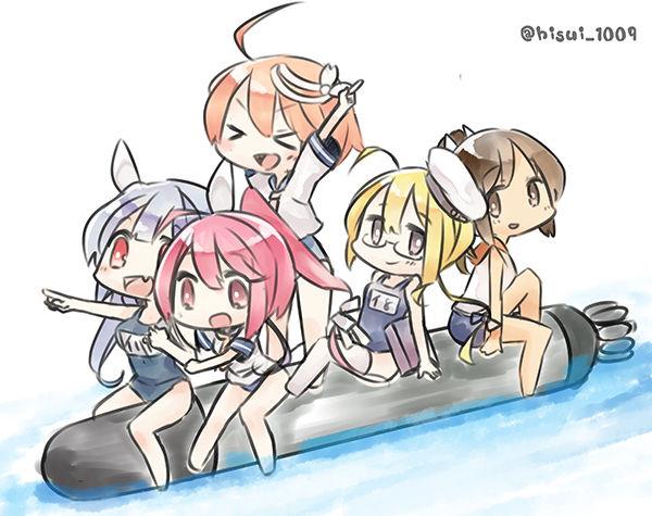 【艦これ】星条旗ビキニの米潜はまだですか・・・?アメリカの潜水艦って艦これの性能的にはどうなんでち?