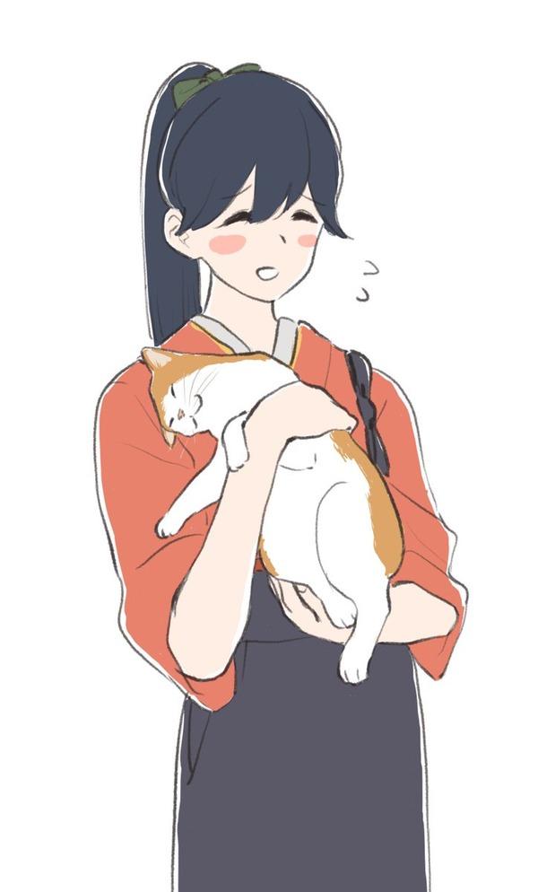 【艦これ】猫に懐かれる鳳翔さん 他なごみネタ