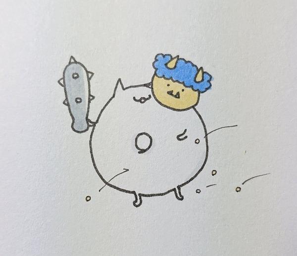 【艦これ】今年の鬼役を引き受けた浮き輪さん 他なごみネタ