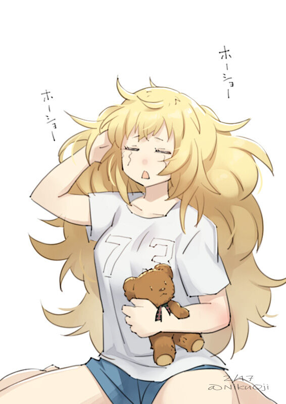 【艦これ】起きたら寝癖がひどかったガンビアベイちゃん 他なごみネタ
