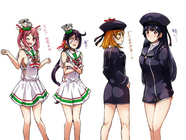 【艦これ】欧州仕様の七駆たち 他なごみネタ