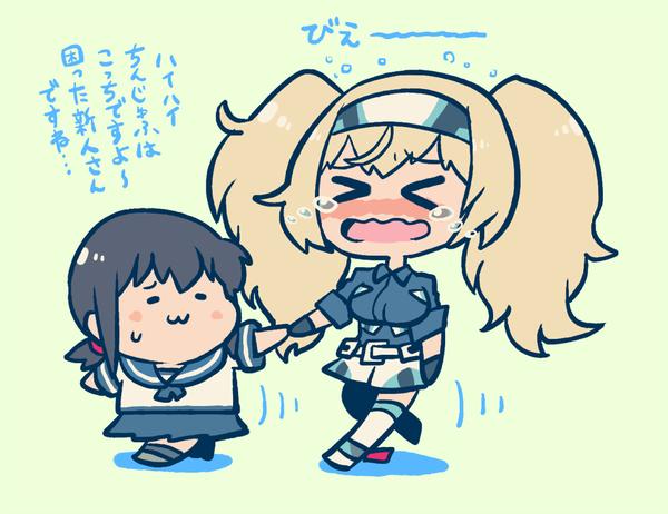 【艦これ】護衛駆逐艦のお世話が必要なガンビー 他なごみネタ