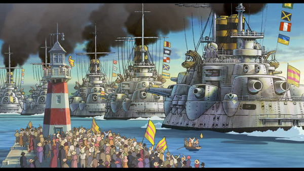 【艦これ】ハウルの動く城の軍艦、強そう