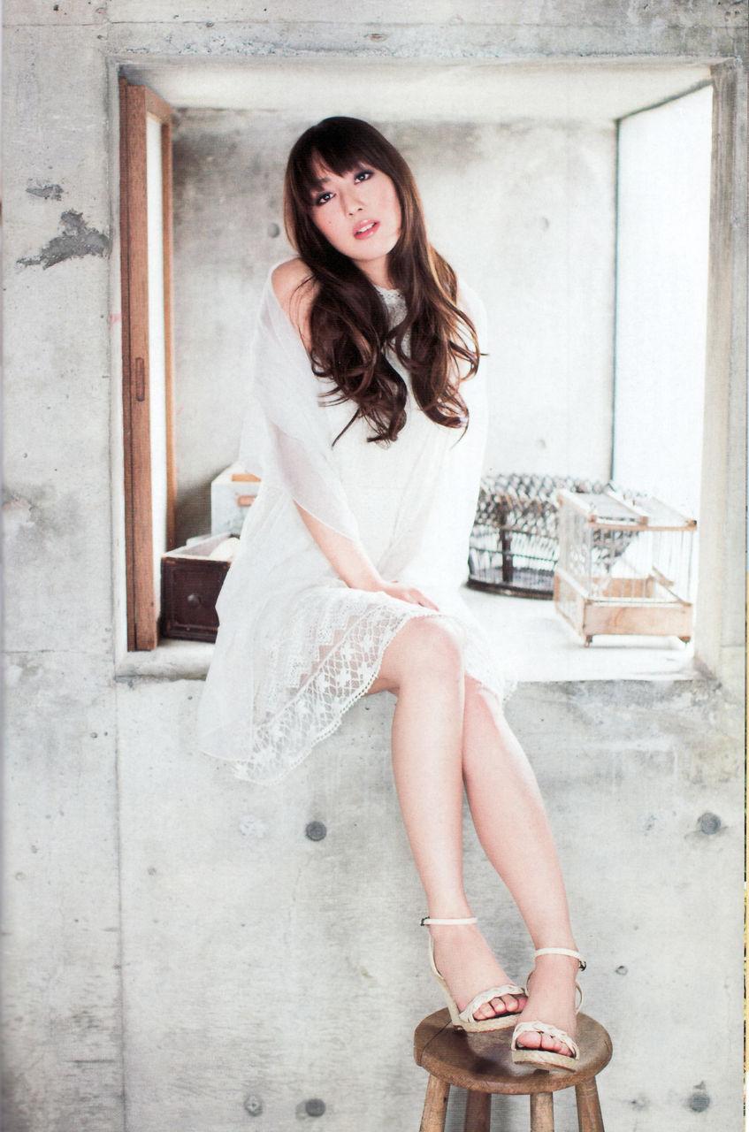 洋服が素敵な日笠陽子さん