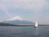 富士に向って3
