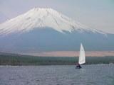 富士に向って2