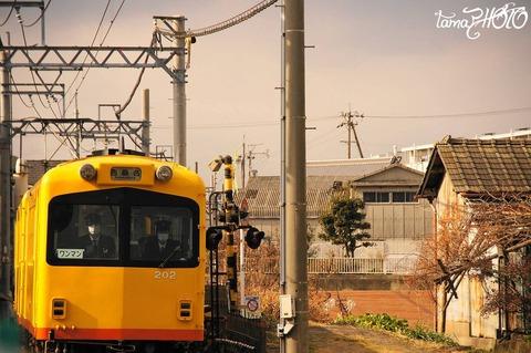 駅間三歩(西別所-蓮花寺)5