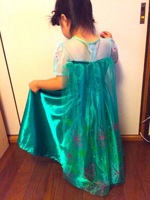 エルサのサプライズドレス製作④