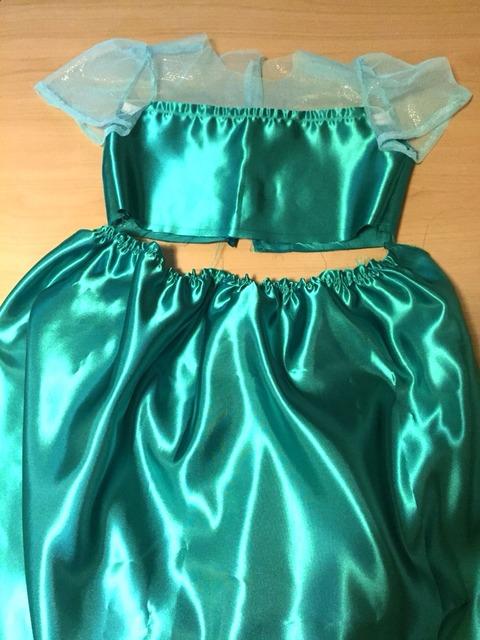 エルサのサプライズドレス製作③
