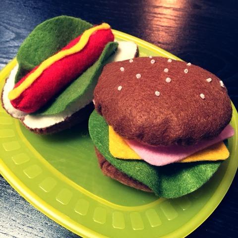 フェルトキット☆ハンバーガー