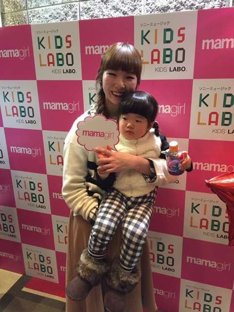 mamagirl×SONY MUSIC KIDS LABO ワークショップ
