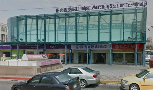 台湾台北站 - Google マップ