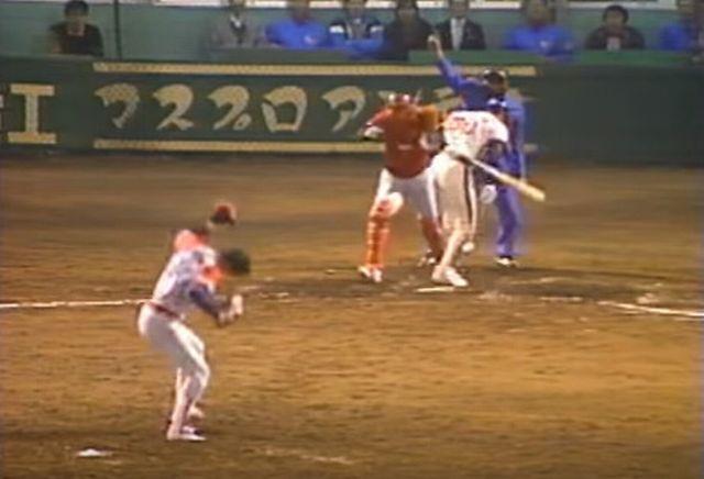 阿波野投手