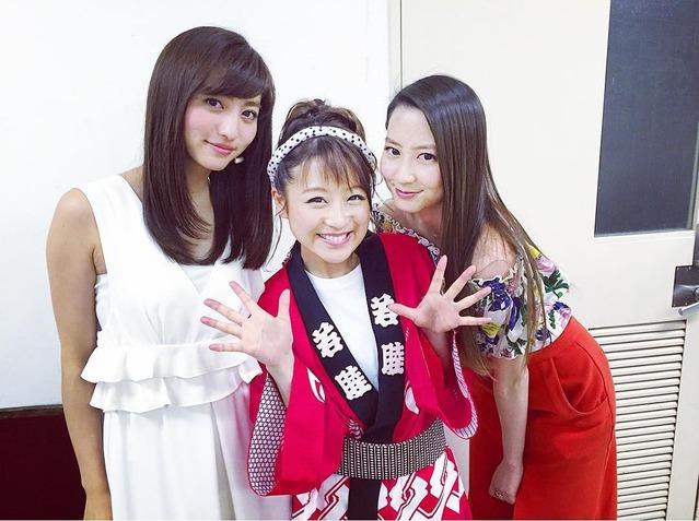 堀田茜&鈴木奈々&河北麻友子