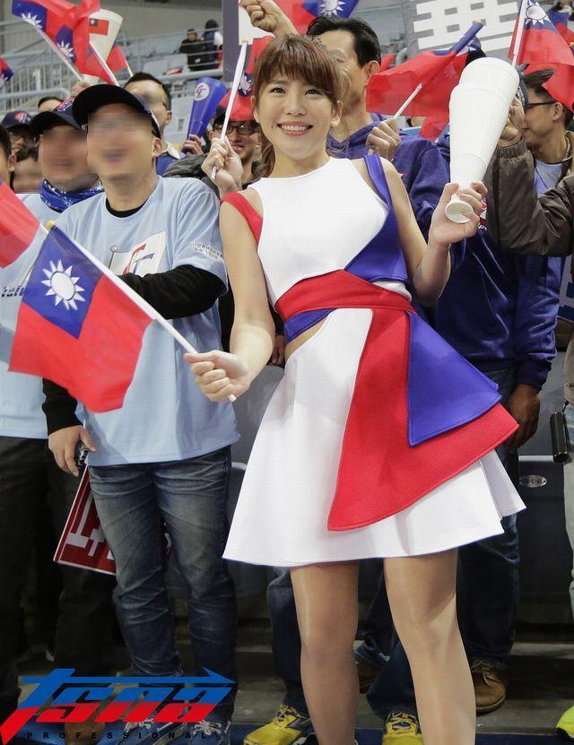 台湾代表チア