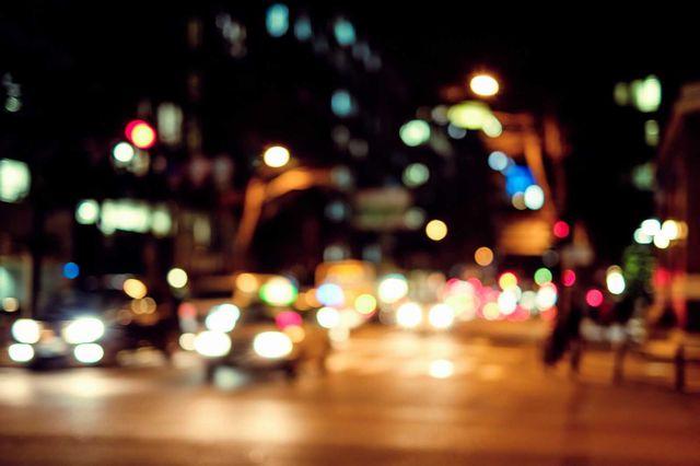 上海の夜の街