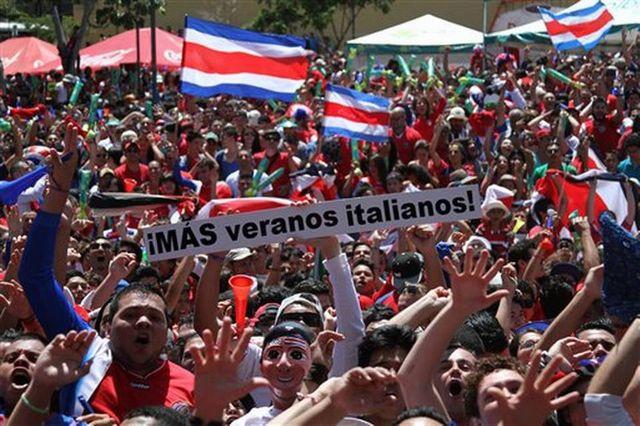 Costa Rica Brazil Soccer WCup