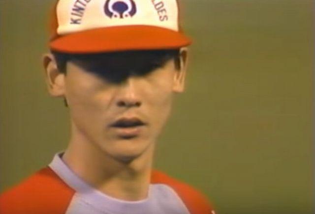 阿波野投手リリーフ