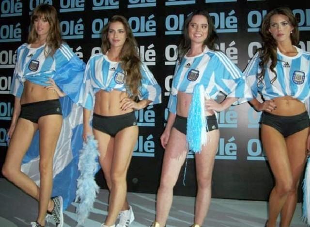 Mujeres Mundial Brasil 2014 selección Argentina 7