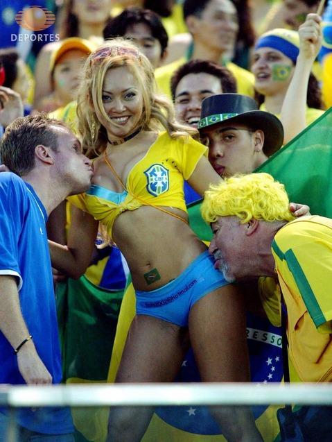 Mujeres Mundial Brasil 2014 selección Brasil 17