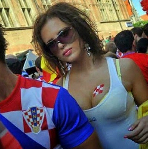 クロアチア美女