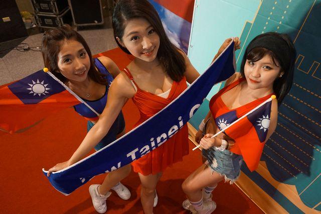 中華民国国旗服4