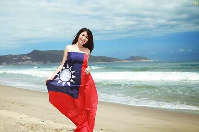 中華民国国旗服5