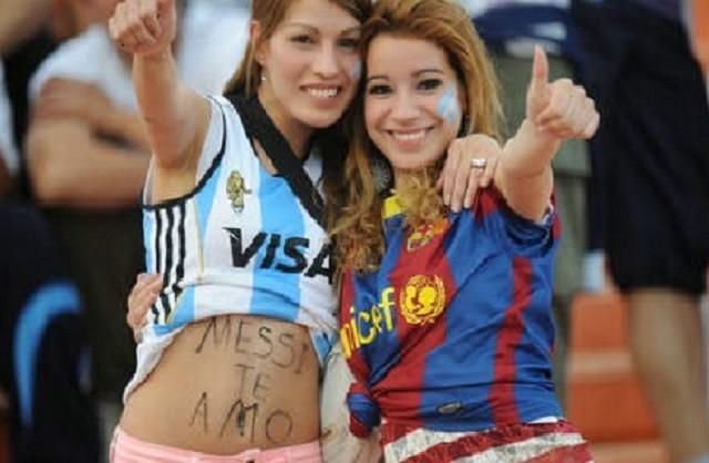 Mujeres Mundial Brasil 2014 selección Argentina 1