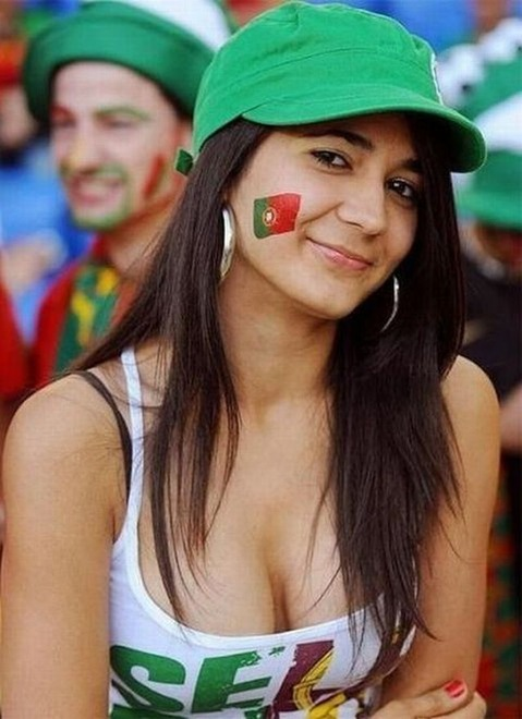 2014 world cup sexy fans - flag tattoos-f29276