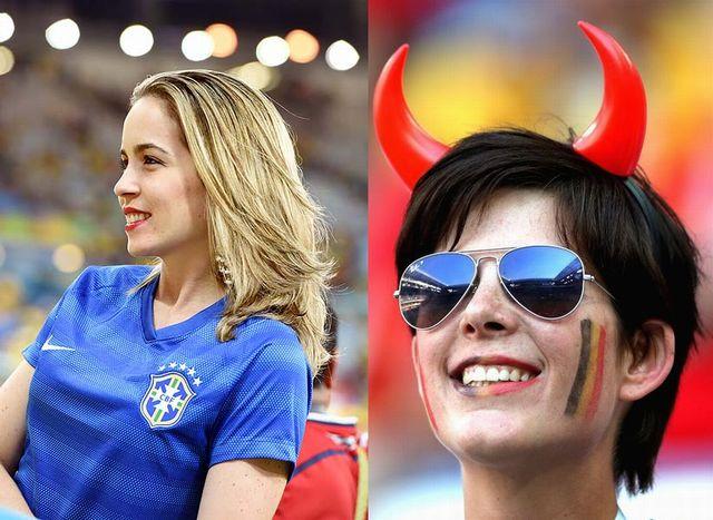 ブラジル&ベルギー