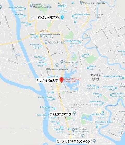 ヤンゴンMap
