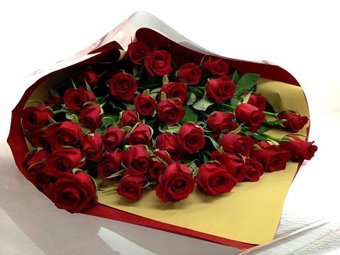 誕生日プレゼント 花束 赤バラ