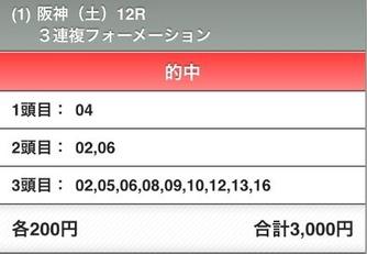 阪神最終12R