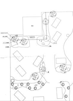 茶庭の見取り図