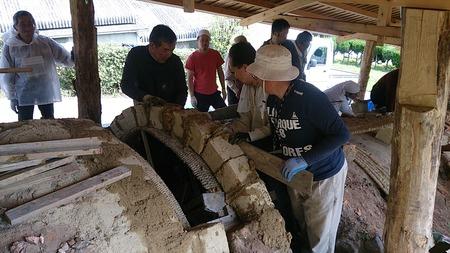 最古の登り窯修復事業 �