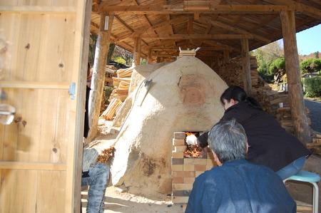 丹波焼最古の登り窯 焼成始まりました!