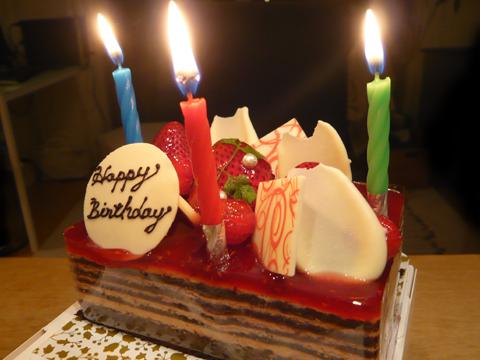 CoNCeNT 誕生日ケーキ