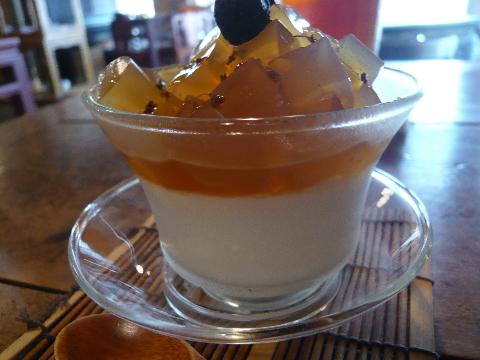 台湾茶藝館 月和茶 デザート2
