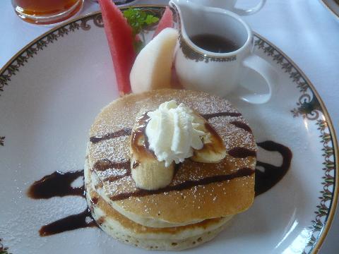 マジェスティック・マラッカ レストラン パンケーキ