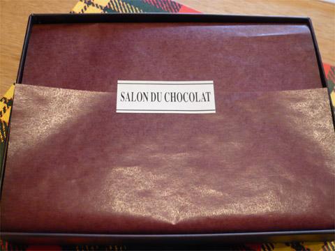 サロン・ド・ショコラ 箱の中