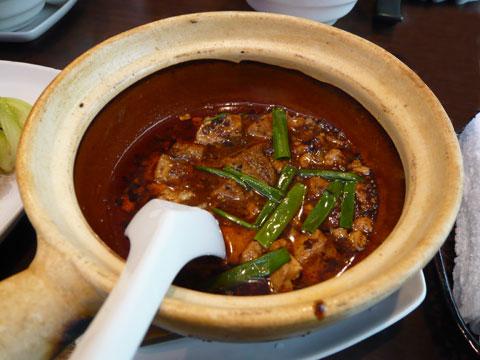 新宿 古月 麻婆豆腐