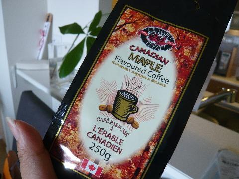 カナダからのコーヒー