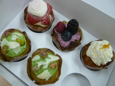 デリカテッセン カップケーキ