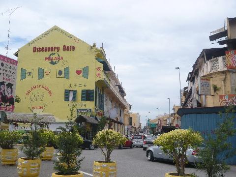 マラッカ 市街地